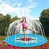 GGreenary Spritzwasser-Spielmatte, Kinderwasser-Sprinkler-aufblasbare Auflage-Schwimmen-Strand-Rasen-aufblasbare Sprinkler-Auflage im Freien