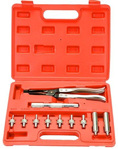 FreeTec Valves Pince Démontage Jeu d'outils 11 pièces