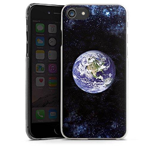 Apple iPhone X Silikon Hülle Case Schutzhülle Erde Earth World Hard Case transparent