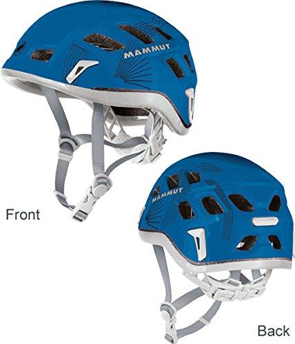 Mammut Rock Rider Polystyrol (EPS) blau Schutzhelm, Unisex - Erwachsene, Rock Rider, Dark Cyan-Smoke, 52-57cm -