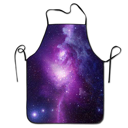 Home 2019 New Style Kitchen Apron Cooking Aprons For Woman Men Polyester Cartoon Printed Apron Clearance Price