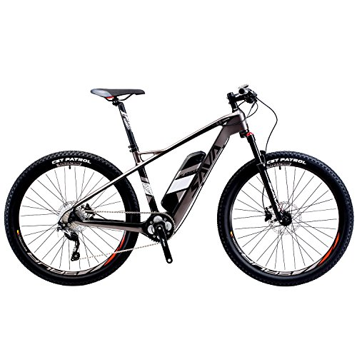 SAVADECK Fibra di carbonio mountain Bike elettrica...
