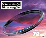 Polfilter POL 72 Circular Slim XMC Digital Weil Design Germany