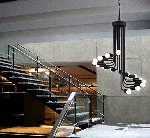 Bar ristorante di ferro tessuto creativo europea stile industriale ciondolo