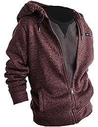 Abercrombie - Homme - Full-Zip Hoodie Sweat à Capuche Sweatshirt - Manche Longue