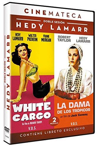 Cinemateca Doble Sesión Hedy Lamarr: White Cargo (1942) + La Dama de los Trópicos (1939) - White Cargo