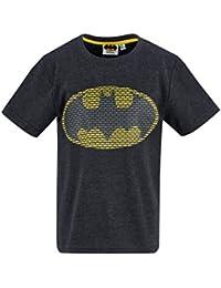 Batman Boys' T-Shirt Grey Grey