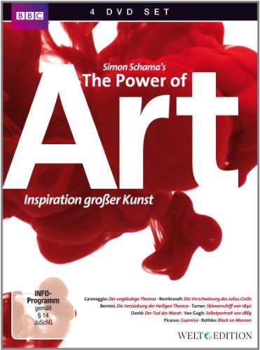 Power of Art - Inspiration großer Kunst (4 DVDs)