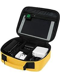 BAGSMART Housse Organisateur d'Accessoires Electroniques Sac de Rangement pour Disque Dur/Câbles/ Chargeur/iPad Mini/Batterie Organisateur d'emballage Voyage