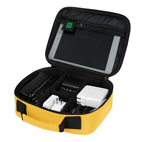 ECOSUSI Accessori da Viaggio Custodia Viaggio Universale Cavo Organizzatore Elettronica Accessori