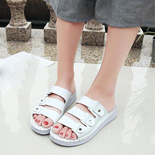 Ocasional Overdose Home Aleta mulheres Praia Verão De Brancas flops Liso Mulheres D Sapatos Sandálias Chinelo 8r0FqXr