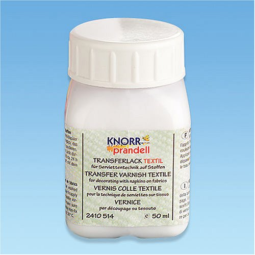 KnorrPrandell 2410514 Transferlack Textil, 50 ml