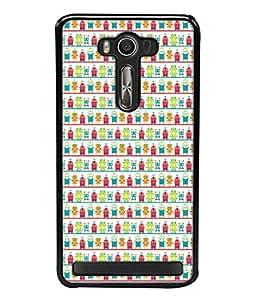 PrintVisa Designer Back Case Cover for Asus Zenfone Selfie ZD551KL (Abstract Decor Decoration Endless Decorative Delicate Beautiful Design)