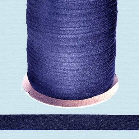 Bias Tape ~ 1/2 Wide Double-fold Bias Tape ~ NAVY ~ Poly Cotton (10 Yards / Pack) by NY Binding -