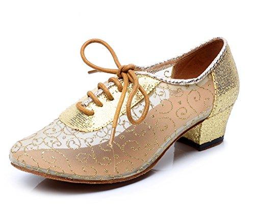 Minitoo ,  Damen Tanzschuhe , Gold - gold - Größe: 36