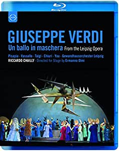 Verdi: Ein Maskenball / Un ballo in Maschera (Leipzig) [Blu-ray]