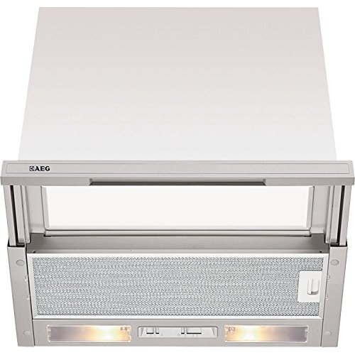 AEG DF4160-ML Flachschirm Dunstabzugshaube / E / 29,5 x 59,8 x 17,3 cm / grau / 3-Stufen-Schiebeschalter