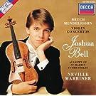 Bruch: Violin Concerto No.1 / Mendelssohn: Violin Concerto