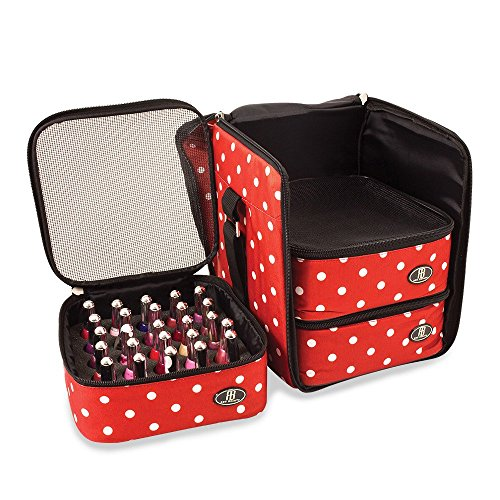 roo-beauty-nail-polish-varnish-cube-manicure-storage-bag-makeup-cosmetic-case-in-red-polka-by-roo-be
