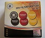 DFB Filzuntersetzer 6er-Set