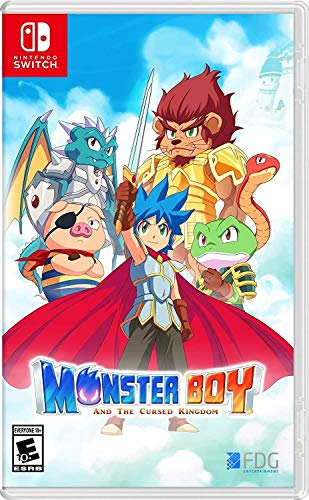 Monster Boy - And the Cursed Kingdom (PEGI)