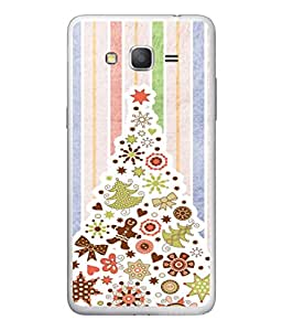 PrintVisa Designer Back Case Cover for Samsung Galaxy On5 (2015) :: Samsung Galaxy On 5 G500Fy (2015) (Christmas Tree In Peppy Design)