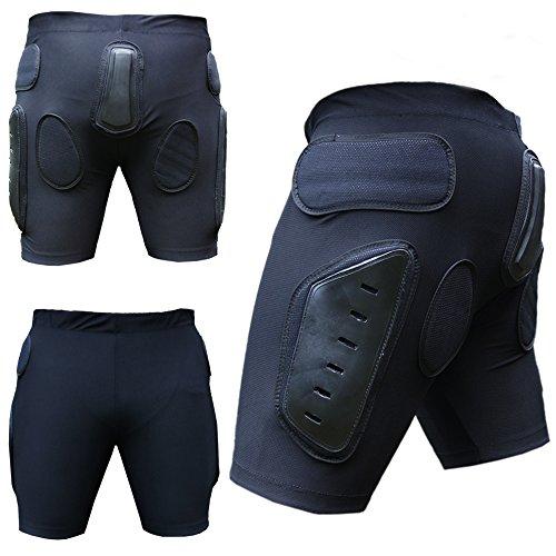 HEEZY Protektorenhose Ski Snowboard Protektorenshorts Motocross BMX Protektor Short Hose