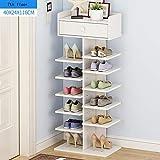Schuhregal Feifei Wohnzimmer Schuhschrank Große Kapazität, Rack, Einfache Multi-Layer-Haushalt Kleine Mini-Raum Economy Typ 5 Größe (größe : 40 * 24 * 116cm)