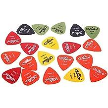 pligh (TM) profesional guitarra Picks púas de guitarra Alice AP-P 20piezas 0,58mm suave Abs Guitarra partes y accesorios