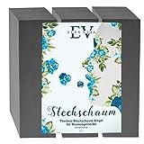 3 x Blumensteckschaum - Trockensteckschaum Set 23 x 11 x 7,5 cm, Steckmos, Steckmasse, Steckziegel für Blumengestecke - Steckschwamm zum Basteln für Feiern, Auto, Hochzeit, Geschenke, aus Deutschland