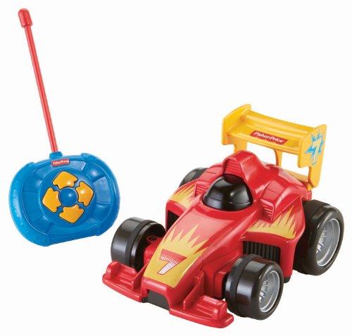 Fisher-Price BHX87 - Fernlenkflitzer, ferngesteuertes Auto, Motorikspielzeug mit Fernbedienung, rot, Kinder Spielzeugauto ab 3 Jahren