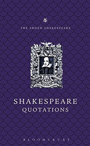 Arden Dictionary of Shakespeare Quotations (Arden Shakespeare Library) por Jane Armstrong