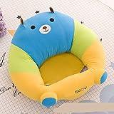 WeieW Kinder frühe Entwicklung Spielzeug Kinder Plüsch Baby Sicherheits Sofa Stuhl Baby Studie Stuhl (Bär)