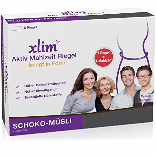 XLIM Aktiv Mahlzeit Riegel Schoko-Müsli 6X56 g