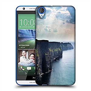 Snoogg Mountains Attached To The Ocean Designer Protective Phone Back Case Cover For HTC Desire 820
