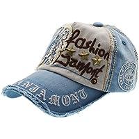 Lettera Patch Rivetti Casual Baseball Cotton Cap