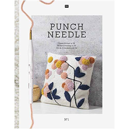 Sibylles Geschenkeartikel NEUHEIT 2019! Punch Needle - Trend-Stricken in 3D - Deutsche Ausgabe - 3d-stricken