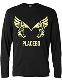Herren Langarmshirt - Placebo - light yellow print - Long Sleeve 100% Baumwolle LaMAGLIERIA