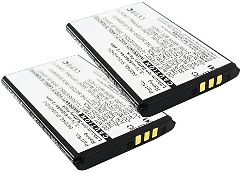 subtel 2X Batería Premium Compatible con Swissvoice Epure, Swissvoice Epure fulleco Duo, Swissvoice L7 (650mAh) 043048,C0487,SV20405855 bateria de Repuesto, Pila reemplazo, sustitución