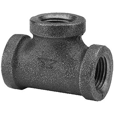 Anvil 8700121455 Malleable Iron Pipe Fitting, Reducing Tee, 3/4