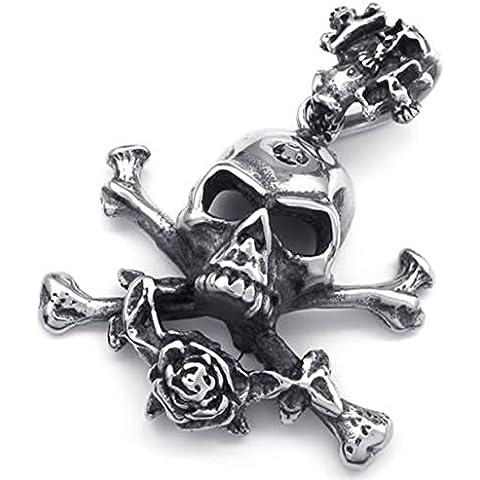 Andonger Dell'acciaio inossidabile dell'annata gotico scheletro del