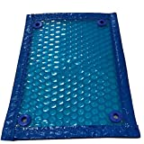 Telone- Copertura Solare for Piscina, Foglio di Copertura Imbottitura a Bolle galleggianti in PE Blu, 400 Micron (Color : Blue, Size : 5×2m)