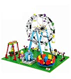 Kiwilon Ferris Wheel Theme Park Building Blocks for Kids ( 447 Pieces )