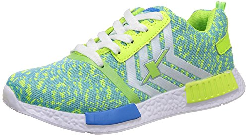 Sparx Women Running Shoes (Green, White)