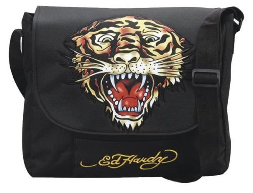 Ed Hardy Tasche Umhängetasche Courierbag Tiger evil