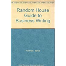 Random House Guide to Business Writing