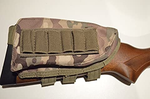 Acide tactique® Buttstock Fusil de chasse fusil Coque Support & Cheek Rest Pochette Couleur Camouflage