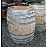 JUNIT 400 Liter rundes gebrauchtes Weinfass Barriquefass Eichenfass Holzfass Wasserfass