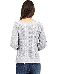 136a0094ece3e Amazon.co.uk  Silver - Jumpers   Jumpers