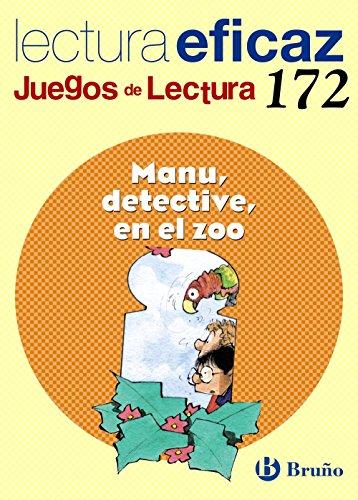 Manu, detective, en el zoo Juego de Lectura: JL 172 (Castellano - Material Complementario - Juegos De Lectura) - 9788421677278